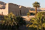 Medinet Habu Temple, West Bank, Luxor, Egypt    Stock Photo - Premium Royalty-Free, Artist: Jochen Schlenker, Code: 600-02046678