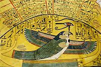 egyptian hieroglyphics - Ptah-Sokar-Osiris, Tomb of Pashedu, Deir Al-Medina, west Bank, Luxor, Egypt    Stock Photo - Premium Royalty-Freenull, Code: 600-02046685