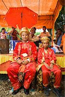Groom and Best Man, Pasar Kambang, Sumatra, Indonesia    Stock Photo - Premium Rights-Managednull, Code: 700-02046621