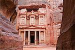 The Treasury, Petra, Arabah, Jordan    Stock Photo - Premium Rights-Managed, Artist: Jochen Schlenker, Code: 700-02046770