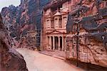 The Treasury, Petra, Arabah, Jordan    Stock Photo - Premium Rights-Managed, Artist: Jochen Schlenker, Code: 700-02046776