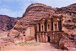 The Monastery, Petra, Arabah, Jordan    Stock Photo - Premium Rights-Managed, Artist: Jochen Schlenker, Code: 700-02046787