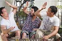 Men at a Party    Stock Photo - Premium Royalty-Freenull, Code: 600-02046886