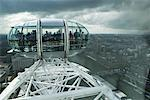 London Eye Pod, London, England, UK    Stock Photo - Premium Rights-Managed, Artist: Strauss/Curtis, Code: 700-02053487