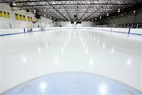 Hockey Rink    Stock Photo - Premium Royalty-Freenull, Code: 600-02056036