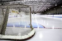 Hockey Net    Stock Photo - Premium Royalty-Freenull, Code: 600-02056038