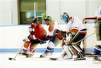 Hockey Game    Stock Photo - Premium Royalty-Freenull, Code: 600-02056061