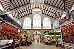 Central Market, Valencia, Spain    Stock Photo - Premium Rights-Managed, Artist: Jeremy Woodhouse, Code: 700-02056616