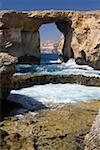Azure Window rock arch, Gozo, Malta Stock Photo - Premium Royalty-Free, Artist: Robert Harding Images, Code: 621-02057842