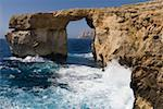 Azure Window rock arch, Gozo, Malta Stock Photo - Premium Royalty-Free, Artist: Robert Harding Images, Code: 621-02057843