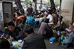 Group Eating Together in City, Hanoi, Vietnam    Stock Photo - Premium Rights-Managed, Artist: Sarah Murray, Code: 700-02063635