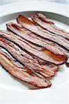 Bacon on a Plate    Stock Photo - Premium Rights-Managed, Artist: Ron Fehling, Code: 700-02063945