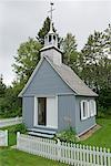 Chapel in Les Eboulements, Charlevoix, Quebec, Canada    Stock Photo - Premium Rights-Managed, Artist: Alberto Biscaro, Code: 700-02071143