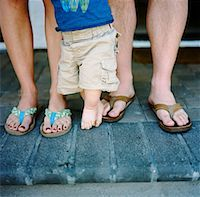 Close-Up of Family's Legs    Stock Photo - Premium Rights-Managednull, Code: 700-02071321