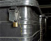 silver box - Metal crates Stock Photo - Premium Royalty-Freenull, Code: 653-02079079