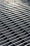 Close-up of a grate Stock Photo - Premium Royalty-Free, Artist: Guy Grenier, Code: 653-02079450