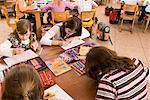 Children in Classroom    Stock Photo - Premium Rights-Managed, Artist: Norbert Kramer, Code: 700-02080297
