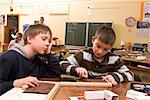 Children in Classroom    Stock Photo - Premium Rights-Managed, Artist: Norbert Kramer, Code: 700-02080340