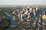 Aerial View of Calgary, Alberta, Canada    Stock Photo - Premium Rights-Managed, Artist: Boden/Ledingham, Code: 700-02080991