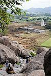 Gingee Fort, Viluppuram, Tamil Nadu, India    Stock Photo - Premium Royalty-Free, Artist: John Cullen, Code: 600-02081644