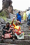 Portrait of People at Gingee Fort Tamil Nadu, Viluppuram District, India    Stock Photo - Premium Rights-Managed, Artist: John Cullen, Code: 700-02081608