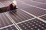 Surveying solar panels Stock Photo - Premium Royalty-Free, Artist: UpperCut Images, Code: 621-02085589