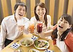 Young People Having Drinks Stock Photo - Premium Royalty-Freenull, Code: 669-02107096