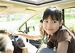 Going for a drive Stock Photo - Premium Royalty-Freenull, Code: 670-02120231