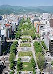 Odori Park Stock Photo - Premium Royalty-Freenull, Code: 670-02120893