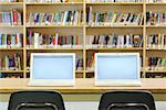 Laptops in School Library    Stock Photo - Premium Rights-Managed, Artist: Chris Hendrickson, Code: 700-02121518