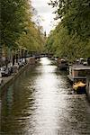 Canal, Amsterdam, Netherlands    Stock Photo - Premium Rights-Managed, Artist: Derek Shapton, Code: 700-02129113
