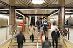 Subway Station, Scarborough, Ontario, Canada    Stock Photo - Premium Rights-Managed, Artist: Derek Shapton, Code: 700-02129152