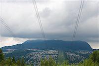 High Voltage Transmission Lines, Coquitlam, British Columbia, Canada    Stock Photo - Premium Royalty-Freenull, Code: 600-02130534