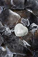 Heart of Ice Surrounded by Ice, Jasper, Alberta, Canada    Stock Photo - Premium Rights-Managednull, Code: 700-02130517