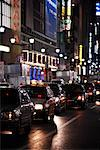 Traffic at Night, Tokyo, Japan    Stock Photo - Premium Rights-Managed, Artist: Nick Onken, Code: 700-02156715