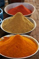 Spices in Bowls, Kathmandu, Nepal    Stock Photo - Premium Rights-Managednull, Code: 700-02156738