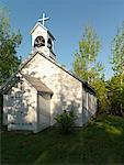 Exterior of Rural Church, Ontario, Canada    Stock Photo - Premium Rights-Managed, Artist: Andrej Kopac, Code: 700-02156878