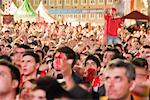 Turkish Football Fans Cheering in the Streets, Salzburg, Salzburger Land, Austria    Stock Photo - Premium Rights-Managed, Artist: Bryan Reinhart, Code: 700-02159127