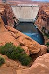 Glen Canyon Dam, Page, Arizona, USA Stock Photo - Premium Rights-Managed, Artist: R. Ian Lloyd, Code: 700-02175734