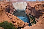 Glen Canyon Dam, Page, Arizona, USA    Stock Photo - Premium Rights-Managed, Artist: R. Ian Lloyd, Code: 700-02175735