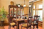 Dining Room    Stock Photo - Premium Rights-Managed, Artist: David Papazian, Code: 700-02176419