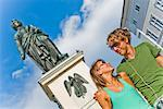 Young Couple in Salzburg, Austria    Stock Photo - Premium Rights-Managed, Artist: Bryan Reinhart, Code: 700-02198131