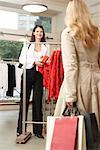 Women in Clothing Store    Stock Photo - Premium Rights-Managed, Artist: AL ACCARDO, Code: 700-02198366