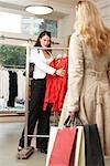 Women in Clothing Store    Stock Photo - Premium Rights-Managed, Artist: AL ACCARDO, Code: 700-02198367
