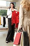 Women in Clothing Store    Stock Photo - Premium Rights-Managed, Artist: AL ACCARDO, Code: 700-02198368