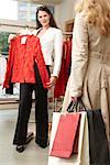 Women in Clothing Store    Stock Photo - Premium Rights-Managed, Artist: AL ACCARDO, Code: 700-02198369