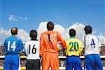 Soccer Players Stock Photo - Premium Royalty-Freenull, Code: 622-02198489