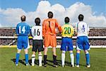 Soccer Players Stock Photo - Premium Royalty-Freenull, Code: 622-02198517