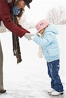 Mother Teaching Daughter to Skate    Stock Photo - Premium Royalty-Freenull, Code: 600-02200070