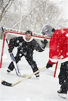 Men Playing Hockey    Stock Photo - Premium Royalty-Freenull, Code: 600-02200118
